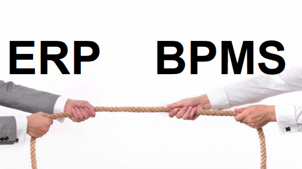 تفاوت BPM و ERP